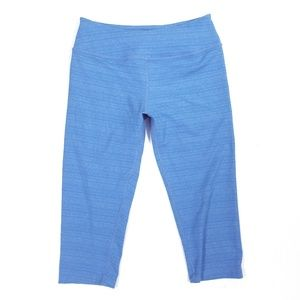 Beyond Yoga Bright Blue Short Crop Capri Leggings